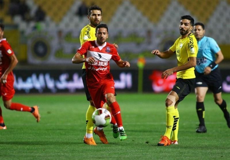 جام حذفی فوتبال، سپاهان در ضربات پنالتی نساجی را حذف کرد