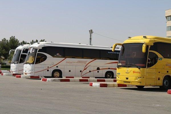 خروج 5400 دستگاه اتوبوس طی 60 ساعت گذشته از مرز مهران