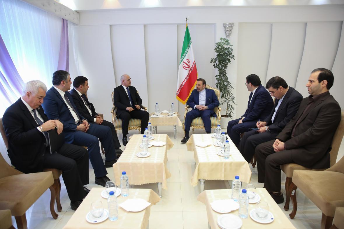 رئیس دفتر رئیس جمهور در دیدار وزیر اقتصاد جمهوری آذربایجان: تهران هیچگونه محدودیتی برای توسعه روابط با باکو قایل نیست
