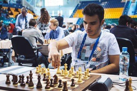 پیروزی طباطبایی در دور پنجم مسابقات آزاد شطرنج سوئیس