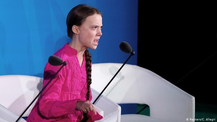 تلنگرهای یک دختر 16 ساله به رهبران دنیا