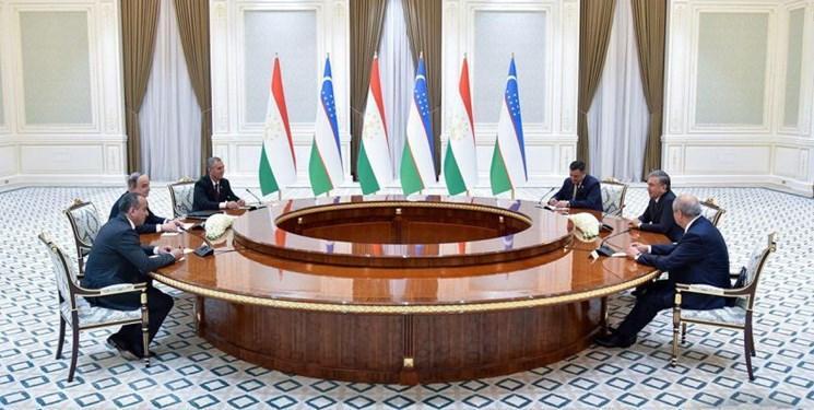 رئیس مجلس تاجیکستان با میرضیایف دیدار کرد