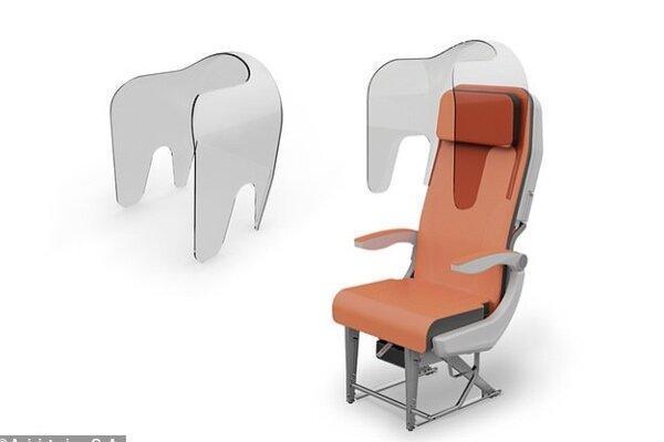 جایگاه ضد کرونا برای هواپیما طراحی شد