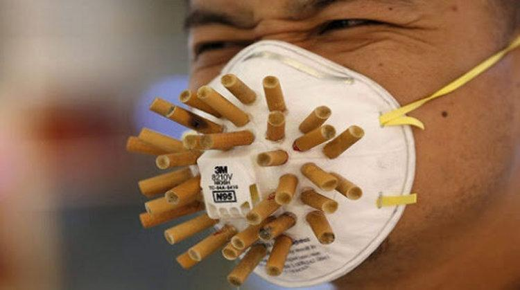 انتقال کرونا به وسیله دود سیگار افراد مبتلا
