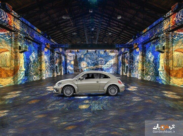 با ماشین از وسط نقاشی ون گوگ عبور کنید، ابتکار یک موزه در روزگار کرونا