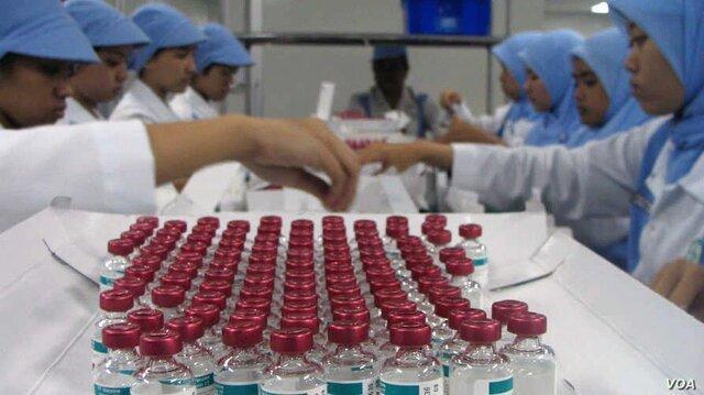 اندونزی به دنبال فراوری سالانه 250 میلیون دوز از واکسن کرونا است