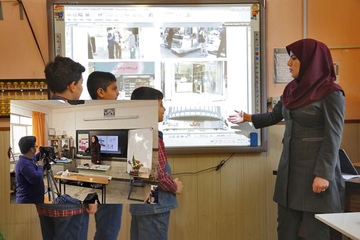 خبرنگاران حرکت جهادی معلمان آذربایجان غربی در تولید 20 هزار محتوای الکترونیکی