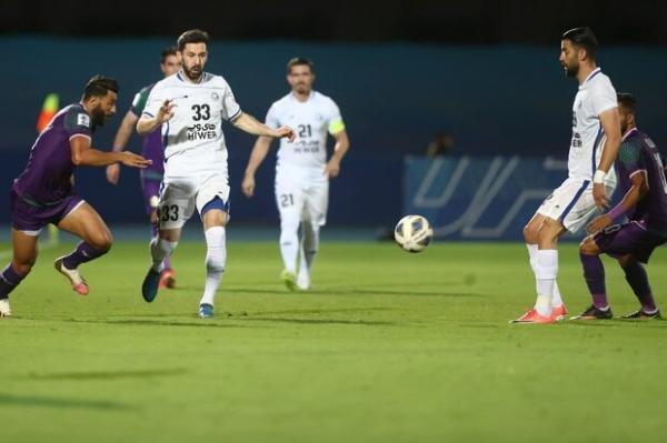پیروزی سخت استقلال برابر الشرطه در نیمه اول، یک مدافع قفل را شکست
