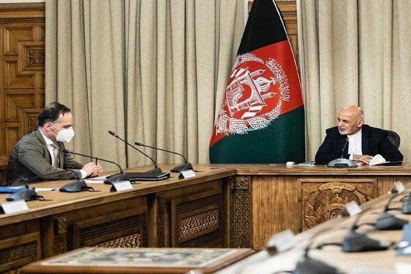 گفتگوی هایکو ماس با اشرف غنی جهت خروج نظامیان آلمان از افغانستان