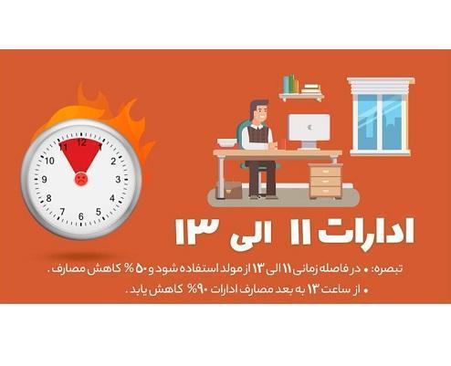 اعلام ساعات اوج مصرف توسط برق تبریز