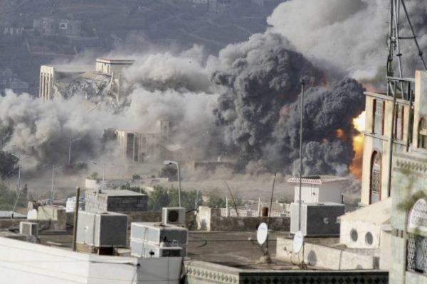 ائتلاف سعودی 16 بار یمن را بمباران کرد